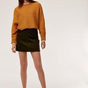 Aritzia - Wilfred Aaliyah Corduroy Mini Skirt